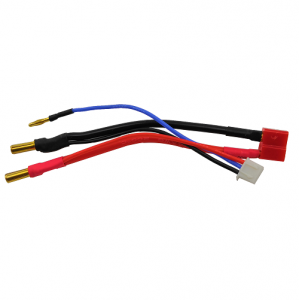 Dean/'s T to 4.0mm Bullet Male Plug Connector RC Charging Cable Wire 150 mm 14AWG